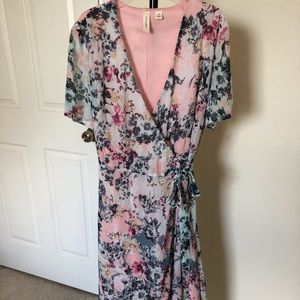 Tacera Floral Dress